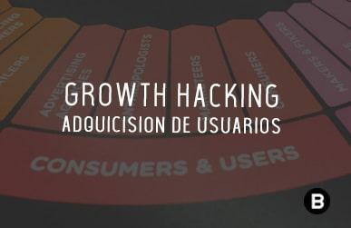 Embudo de Growth Hacking; Adquisición de usuarios