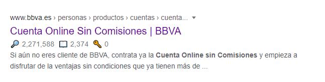 resultado de búsqueda BBVA