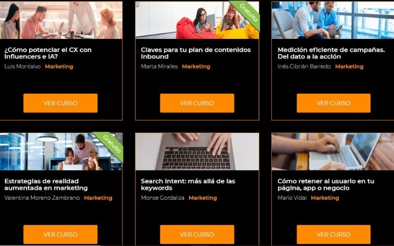 E-learning categorización